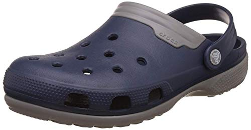 Crocs Damen Duet Clog, Navy Smoke, 42/43 EU