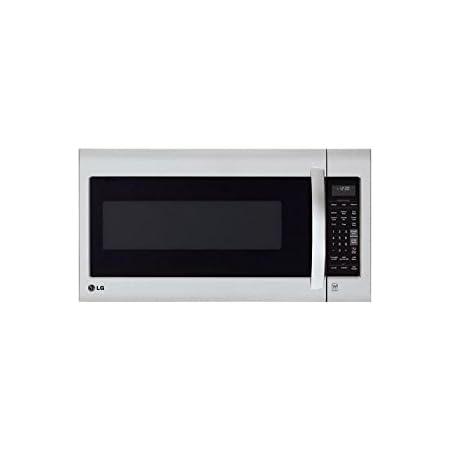lg lmv2031st stainless steel 2 0 cu ft over the range microwave