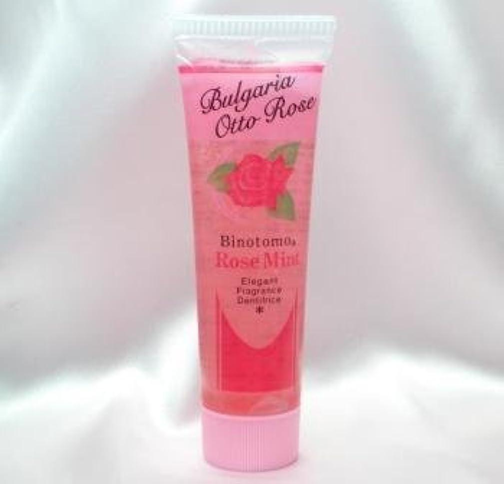 任命する先例多様体【不動化学】香りのはみがきローズミント60g
