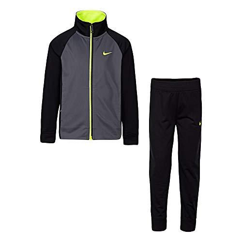 Nike Little Baby Jungen Trikot Trainingsanzug 2-teiliges Outfit Set Game Royal -  Schwarz -  4