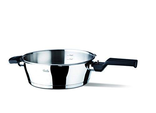 Fissler Vitavit Comfort FL61030002100, mit Druck, 2,5 L, ohne Deckel, 22 cm