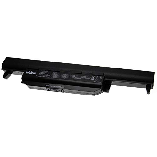 vhbw Batería Compatible con ASUS A55, A55A, A55D, A55DE, A55DR, A55N, A55V, A55VD, A55VJ, A55VM, A55VS Notebook (5200mAh 10.8V Li-Ion Negro)