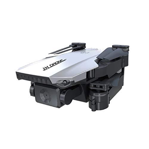 Webla J2 2.4G Gps 5G 4K Cámara de video Hd Gran angular Posicionamiento de flujo óptico Quadcopter Drone de aire plegable(Plata)