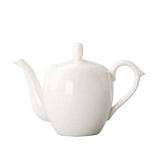 Zoo-Yilchu Tetera, Conjunto de cerámica del té, Hecho a Mano Tradicional Juego de té Ceremonia con teteras (Blanco)