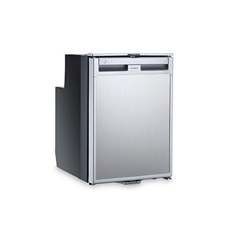 DOMETIC CoolMatic CRD 50 ausziehbarer Kompressor-Kühlschrank in Edelstahl-Optik, Schubladen-Kühlschrank, 38,5 l für Wohnmobil und Boot