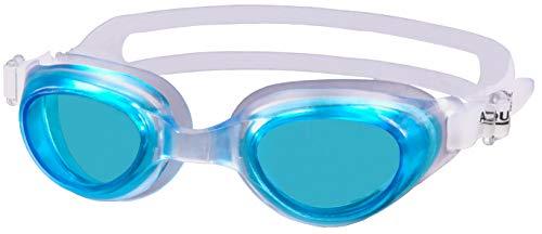 Aqua Speed® AGILA JR Schwimmbrille Goggle Sicherheitsglas AntiFog UV, Farbe:Türkis