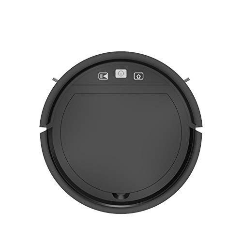 Kaper Go Robot Aspiradora, Robot De Barrido Inteligente Inductivo, Carga Automática, Barrido, Chupando Y Arrastrando A La Barredora Poderosa Integrada (Color : Black)
