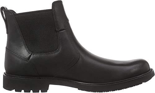 Timberland Herren Stormbucks Chelsea Pull-on Chukka Boots, Schwarz (Black Smooth), 44 EU