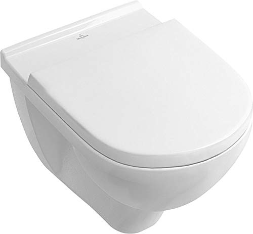 Villeroy & Boch V&B Wand-Tiefspül-WC Targa weiß spülrandlos Toilettenschüssel Toilette WC Sitz