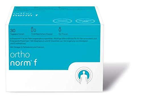 orthomed orthonorm® f 30 Tagesportionen zu je 1 Trinkfläschchen + 1 Kapsel (726g)