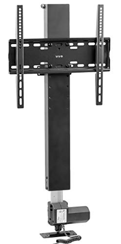 VIVO Motorized TV Stand for 32 to 48 inch Screens, Vertical Lift Television Stand with Remote Control, Compact TV Mount Bracket, MOUNT-E-UP44