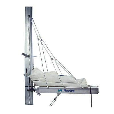 Nautos 002RFS - Lazy Jack Type B - Medium Size - 32 to 38 FEET Sailboats - with Rope and FURLING Straps