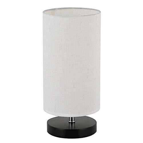 Modern design vintage tafellamp elegant nachtlampje led nachtlampjes met stof schaduw en houten lampvoet