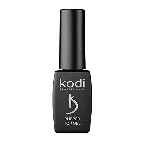 KODI Professional Glänzender Top Coat auf Kautschukbasis - Überlack für natürliche oder künstliche Nägel - Decklack für dauerhaften Nagellack - ungiftig & geruchslos - Für LED/UV-Lampe (12 ml)