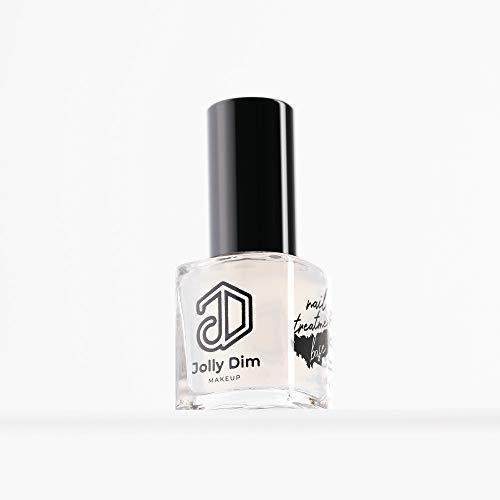 Jolly Dim Makeup Nail Treatment Base, Grundierung. Stärkt brüchige, schwache Nägel. Grundierung