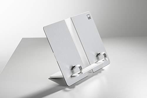 moll Buchstütze faltbar Erweiterung Kinderschreibtisch, Silber, 13 x 33 x 24 cm
