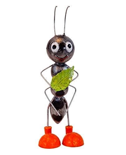 Amicaso Decoración de Metal para jardín con Forma de Hormiga