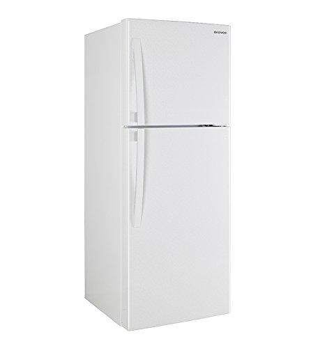 Daewoo DFR-36520GBMB Refrigerador Top Mount, color Plata