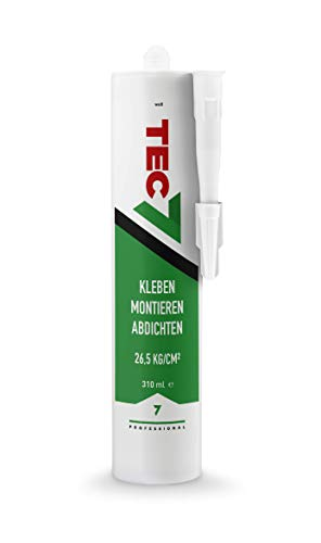 TEC7 Alles Kleben, Dichten, Montieren! Farbe: weiß