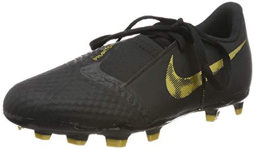 Nike Unisex-Kinder Jr Phantom Venom Academy Fg Fußballschuhe, Mehrfarbig (Black/MTLC Vivid Gold 077), 32 EU