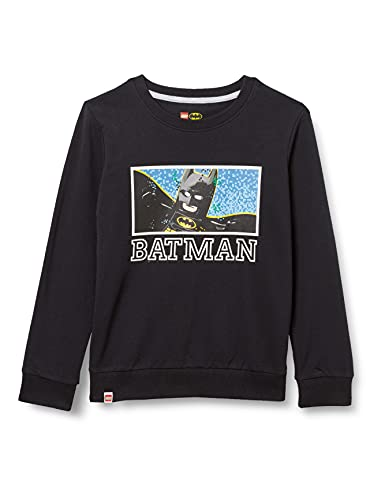 LEGO Batman Sweatshirt Sudadera, 995, 122 para Niños