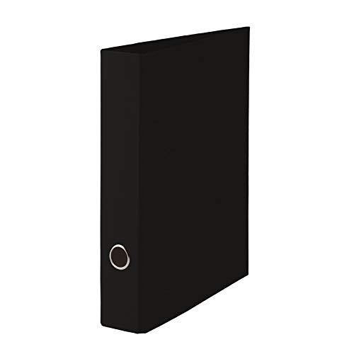 Rössler 1317452701 - S.O.H.O. Ordner A4 mit Hebelmechanik, Rückenbreite 50 mm, schwarz