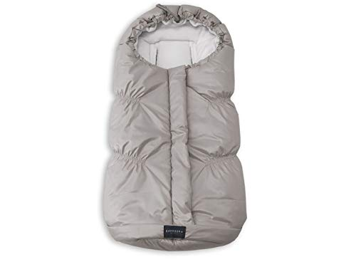 Bamboom Sacco invernale ovetto carrozzina igloo mini light grey