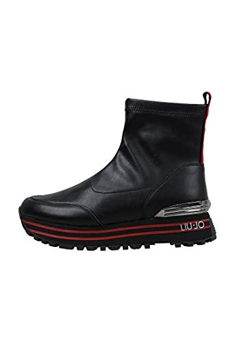 Liu Jo LJWMX, Zapatillas Mujer, Negro, 40 EU