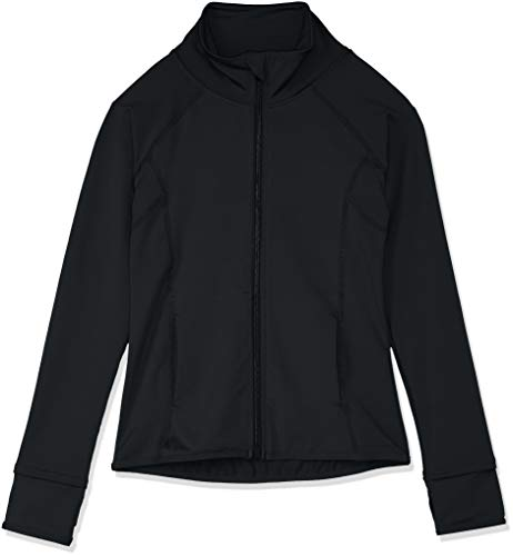 Capezio Kids' Big Team Spirit Jacket, Black, X-Large