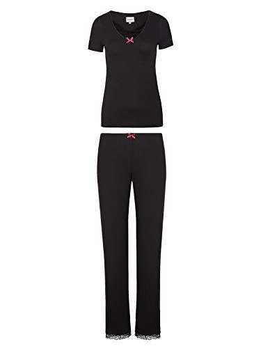 Vive Maria Boudoir Lace Long Pyjama schwarz, Größe:S