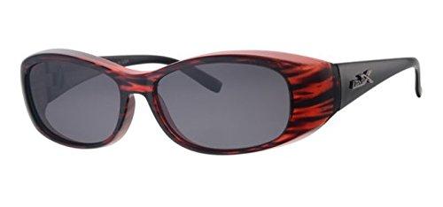 REVEX polarisierte Überbrille Sonnenbrille für Brillenträger Farbe1 CAT3