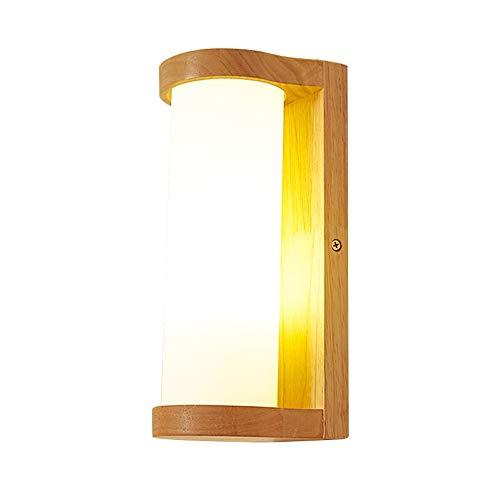 Lighfd Nordic Licht van de Muur in Japanse stijl wandlamp Moderne Eenvoudige Planken Bracket Lights schans for Living Room Lights Slaapkamers Lampen Corridor Muur Lighting