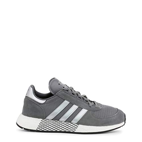 Mens Adidas Originals Marathon x5923 Trainers in Grey
