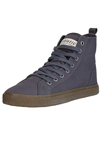 Ethletic Unisex Sneaker Hi Fair Goto Pewter Grey 38 Fair | Vegan | Nachhaltig