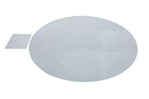 Lay-Z-Spa Bodenschutzfliesen-Set, 10 Stück gesamt für Lay-Z-Spa und Pumpe/Heizung
