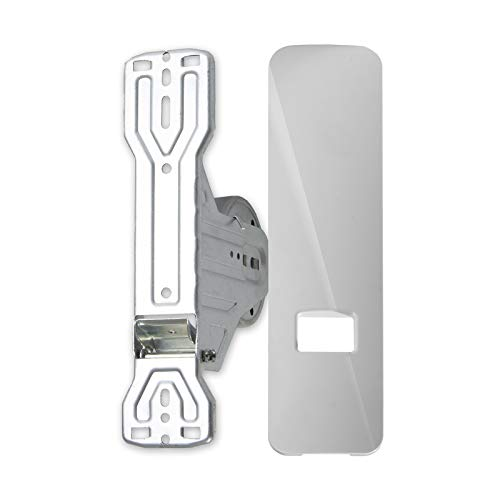 Rollladen Design Unterputz Einlass Gurtwickler Gurtroller Clicko mit Clip-Blende Lochabstand 104-186 mm für Maxi Gurtband