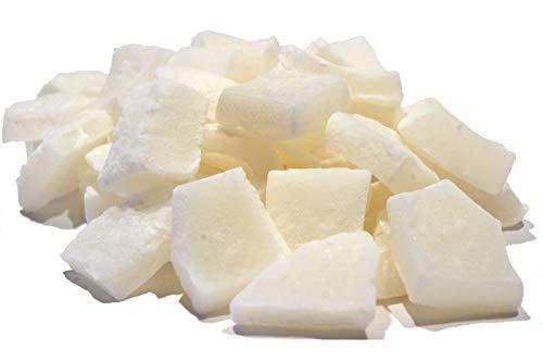 Kokos Würfel Jumbo, getrocknete Kokosnuss Stücke, Kokos Nüsse, veredelt, praktischer Trockenfrüchte Snack - 500g