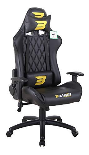 BraZen Phantom Elite PC Gaming Chair - Black