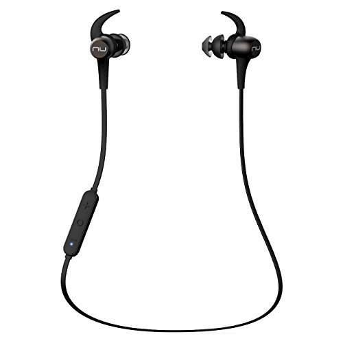 NuForce BE Sport 3 - Auriculares in-Ear inalámbricos Bluetooth magnéticos BE Sport3 Gris 560mm Gris