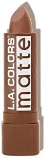 L.A. COLORS Matte Lip Color - Brown Sugar (並行輸入品)