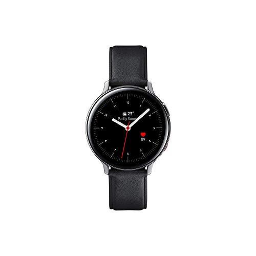 Samsung - Montre Galaxy Watch Active 2 4G - Acier 44 mm - Argent Glacier - Version Française
