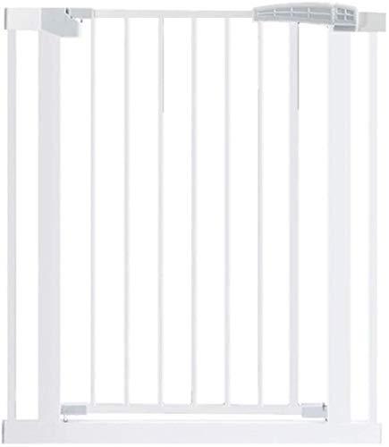 YYF Strapazierfähige Mehrzweck-Schutztür für Hunde, Größe für die Haustür, Treppe, Zaun, Babyzaun, Schutz vor Stößen 117-124cm