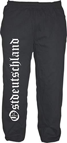 HB_Druck Ostdeutschland Jogginghose_ XL Schwarz
