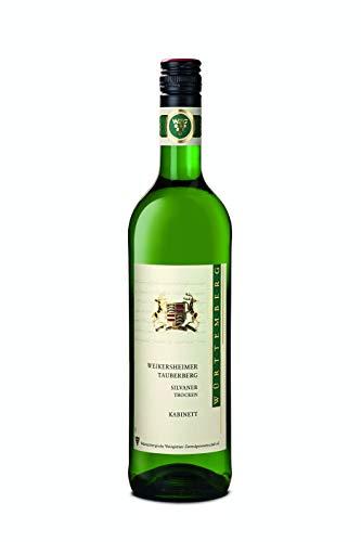 Württemberger Wein Weikersheimer Tauberberg Silvaner Kabinett trocken (1 x 0.75 l)