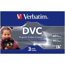 Verbatim DVC 60 Video cassette - Confezione da 3