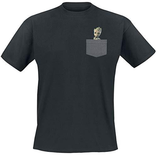Guardians of the Galaxy 2 - Groot Männer T-Shirt schwarz XL