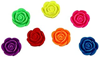 50 Pcs Roses Grow in Water Toys - Assorted Expandable Mini Flowers Water Growing Toys - Vending Machine Toys Easter Party ...