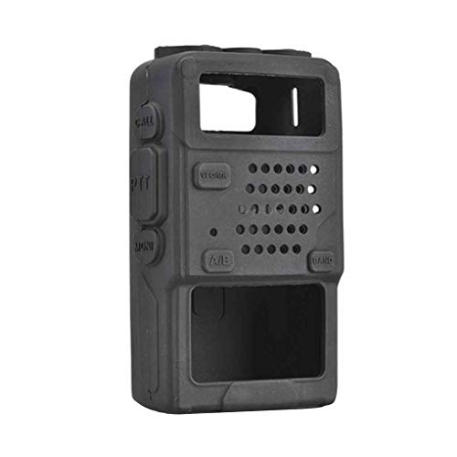 Mingtongli Silikon-weiche Schutzhülle Tasche für UV-5R / UV-5RA / UV-5R Plus-Walkie Talkie-Radio