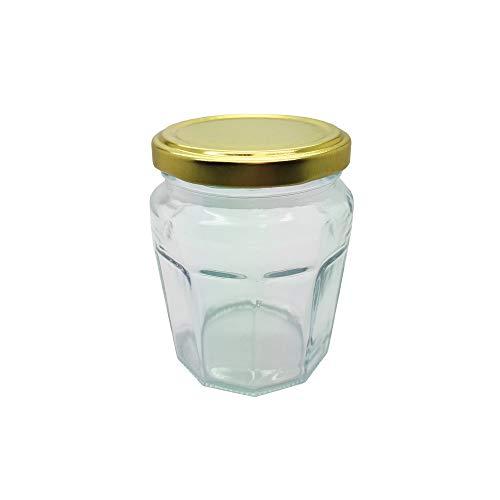 TAPAS & ENVASES RIOJA Tarros de Cristal para conservas con Tapa de Mermelada frascos de Vidrio pequeños de Cocina para Mermelada conservas Cierre hermético Botes de 230 Ml Pack 30 Unidades