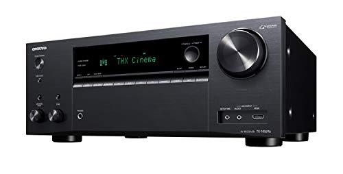 Onkyo TX-NR696(B) 7.2 Channel AV Receiver (THX Cinema Sound, Dolby/DTS: X, Wifi, Bluetooth, Streaming, Music Apps, Spotify, Deezer, Radio, Multiroom, 175 Watt/Channel), Black